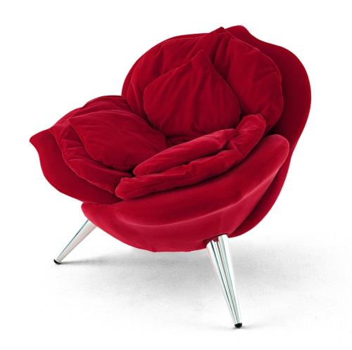 Poltrona Edra Giglio.Sedute Con I Petali Casa Design