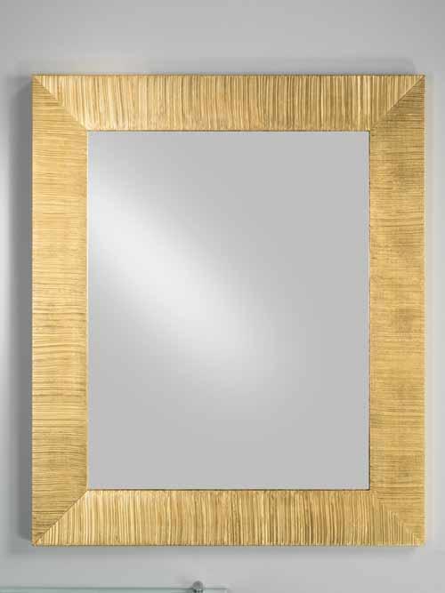Specchi Con Cornice Ikea.Specchio Cornice Dorata Bagno Decorazione