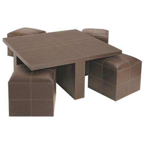 Tavolino Con Pouf Mondo Convenienza | Damesmodebarendrecht