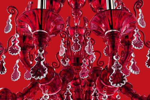 Dettaglio Taif rosso, Barovier&Toso