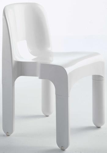 Joe Colombo di Kartell, è la prima sedia al mondo industriale, 119 euro