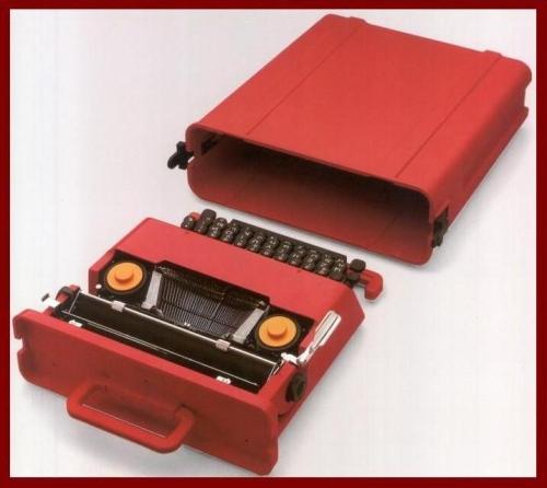 """&nbsp;La macchina per scrivere portatile Valentine del 1969, <A href=""""http://www.storiaolivetti.it/"""">www.storiaolivetti.it</A> - Associazione Archivio Storico Olivetti, Ivrea"""