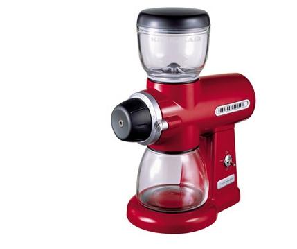 Il gusto del caffè macinato in casa, con ilmacina caffè di KitchenAid
