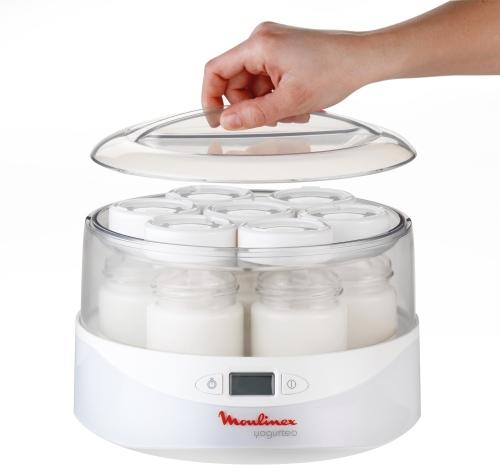 Yogurteo di Moulinex. Per preparare lo yogurt al naturale. E non solo