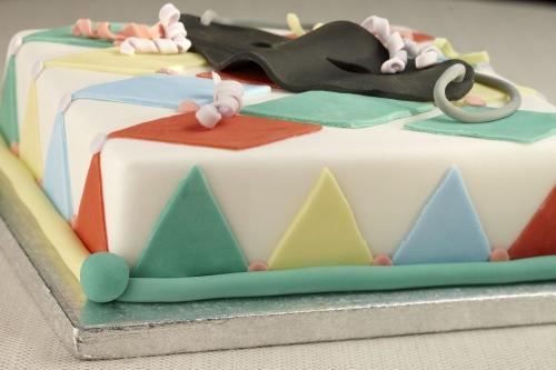 La torta per il carnevale