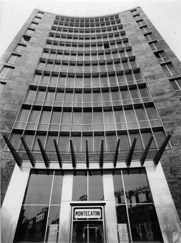 Primo Palazzo Montecatini Milano 1938