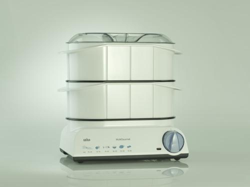 Braun, Vaporiera Multigourmet per preparare cibi senza aggiunta di grassi, 95,90 euro