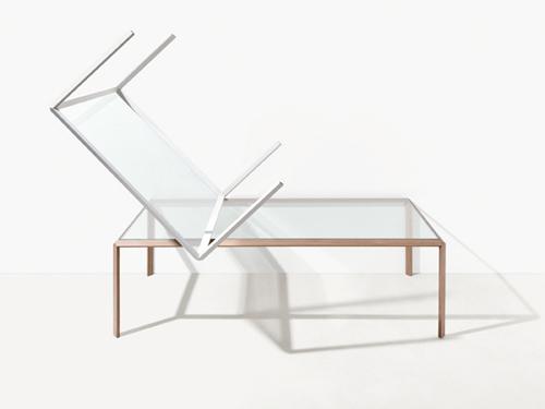 Tavolo della collezione Grado per Molteni&C.