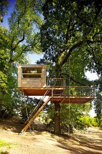 La treehouse in Repubblica Ceca