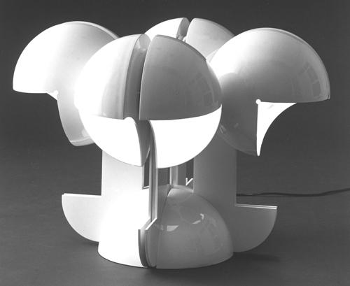 Lampada Ruspa, Martinelli Luce, 1967