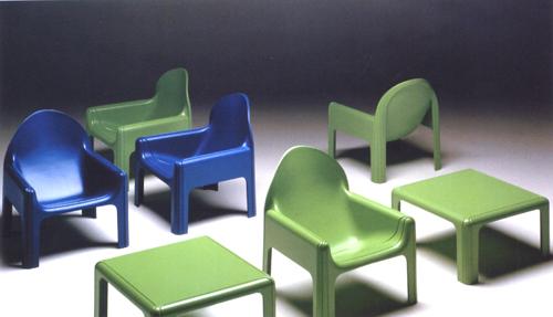 Serie di mobili, Kartell, 1968
