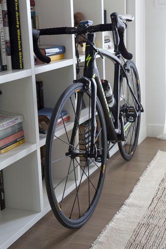 Tra le sue passioni: la bici