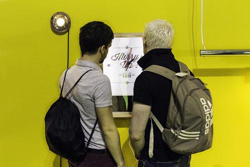 I visitatori del SaloneSatellite 2013