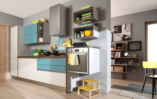 Cucine A Scomparsa Veneta Cucine.Colore E Hi Tech La Cucina E Servita Casa Design