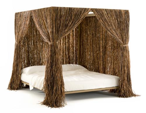 Sonni immersi nella natura con Cabana letto di Edra. Ideato dai fratelli Campana