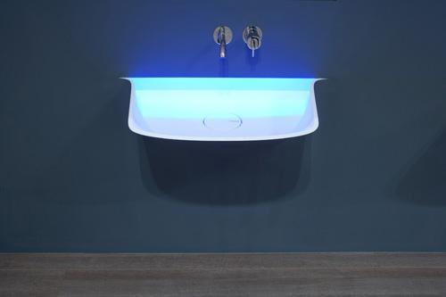 luce e lavabo secondo antoniolupi