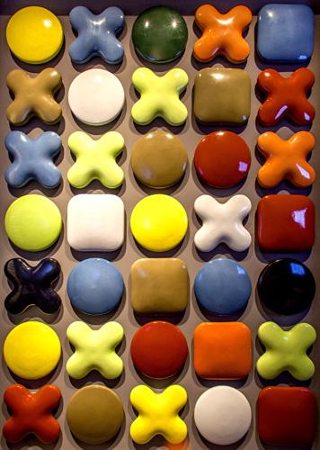 Tagina realizza pixel ceramici 3d per personalizzare le facciate come gli interni domestici