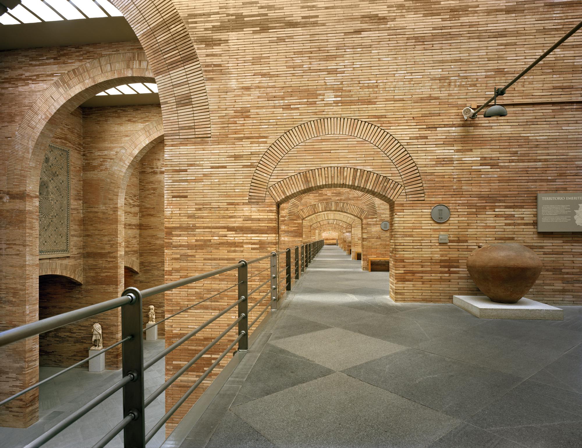 Il museo di arte romana, a Merida, in Spagna
