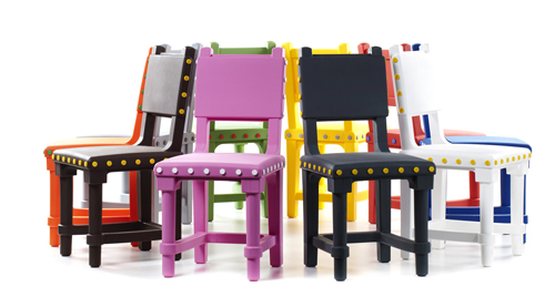 Le  Gothic chair per Moooi, ideate dallo studio Job