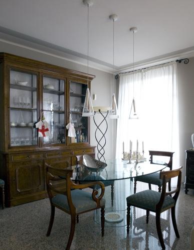 Nella casa di Davide Oldani, convivono antico e moderno