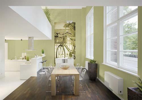 Pareti Salotto Verde : Pareti a caccia di idee casa design