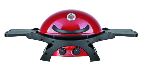 A gas, compatto e colorato, il bbq Twin Grill di Dolcevita bbq, 640 euro