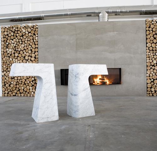 Il lavabo scultura Pipa di antoniolupi