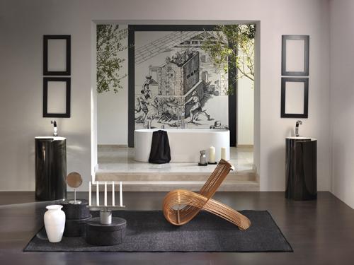 La vasca Oval di Ceramica Flaminia è in pietraluce, un materiale molto resistente