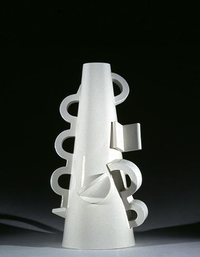 Vaso con manici, ceramica, Piccola Produzione, 1994