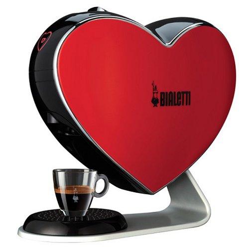 Cuore di Bialetti è la prima macchina per caffè sospesa (149,90 euro)