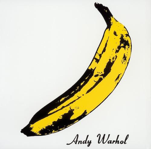L'album dei The Velvet Underground&Nico,1966-67, prodotto da Andy Warhol, il quale ne disegnò la celebre copertina con la banana