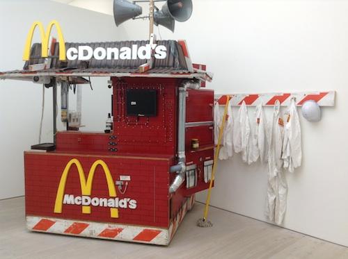 Tom Sachs - Nutsy's McDonald's, 2003