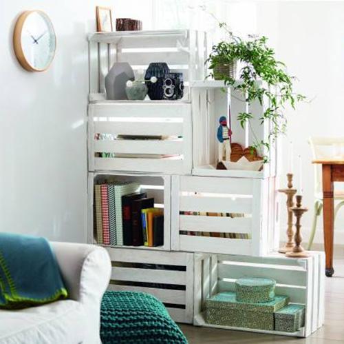 riciclare una cassetta della frutta in 5 (semplici) mosse - casa