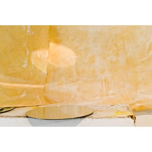 """Gregorio Botta nel suo studio: """"Dell'accogliere"""" prove di montaggio, foto di Elena Janniello"""