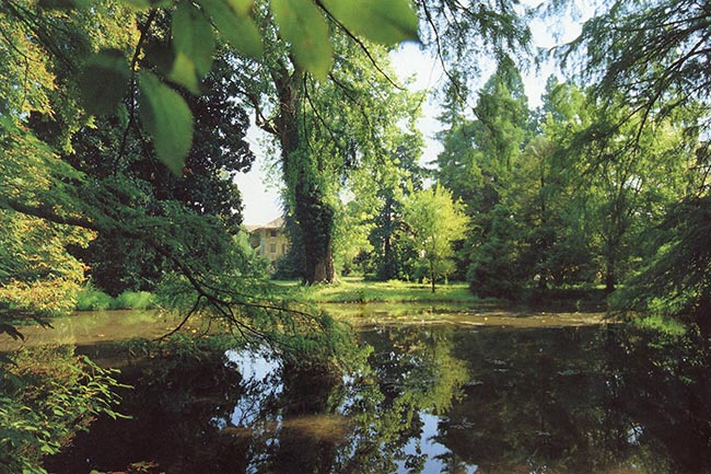 Il parco della villa Kechler de Asarta, Fraforeano