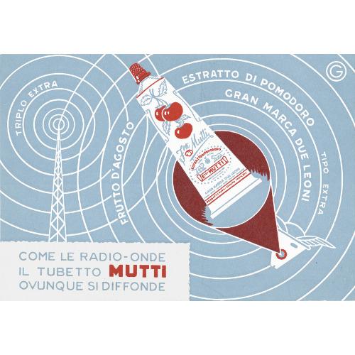 Cartolina, anni Cinquanta (Archivio Mutti)