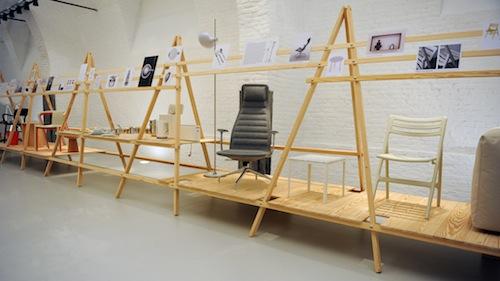 Hornu (Bruxelles), Centre d'innovation et de design, View of the show © Jasper Morrison © CID. Foto di David Marchal