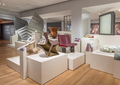 "Mostra ""Provocations - The Architecture and Design of Heatherwick Studio"" di Thomas Heatherwick. Foto di Matt Flynn © 2015 Cooper Hewitt, Smithsonian Design Museum, New York"