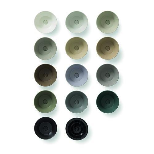 Bagno di colore di Ceramica Globo: 14 tonalità che si ispirano alla natura