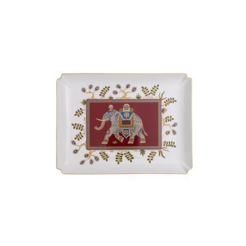Per i travel-addicted: evoca posti lontani l'illustrazione del portaogetti in ceramica Samarkand rubin di Villeroy & Boch (55 euro)
