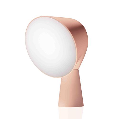 La lampada Binic di Foscarini si tinge di una nuova tonalità che si ispira al rosa quarzo, 145 euro