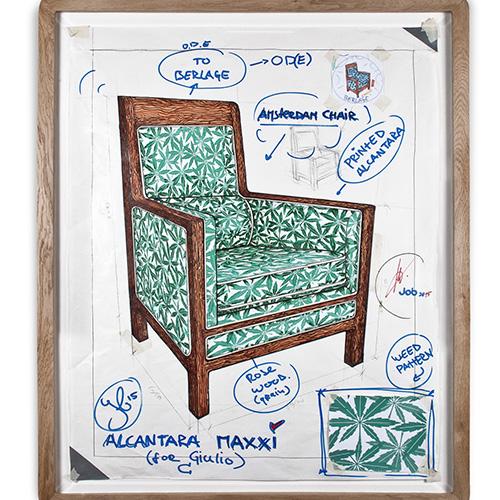 "Amsterdam - Studio Job ""Amsterdam Chair"""