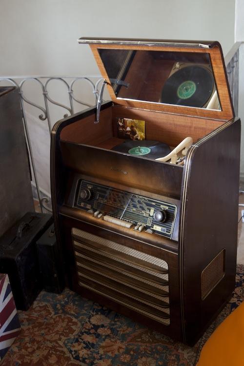 Il grammofono anni Cinquanta