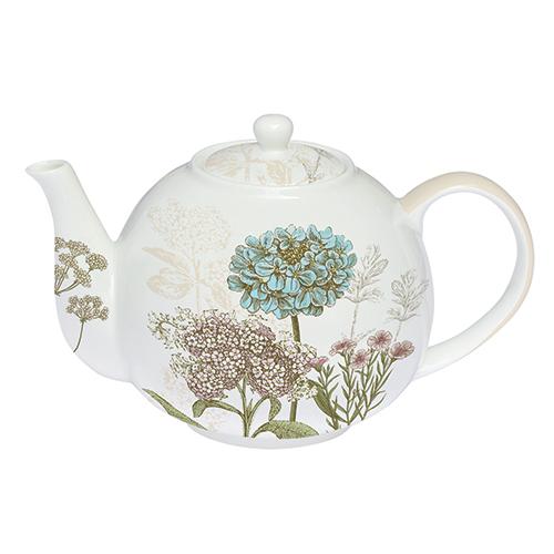 Teiera in porcellana della collezione Botanica di Easy Life (30 euro)