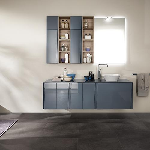 6. Il bagno si rifà il look: per dare più valore all'immobile rinfreschiamo la stanza con nuovi rivestimenti ceramici o altri materiali, cambiamo i  sanitari e la rubinetteria (in foto la collezione Lagu di  Scavolini Bathroom)