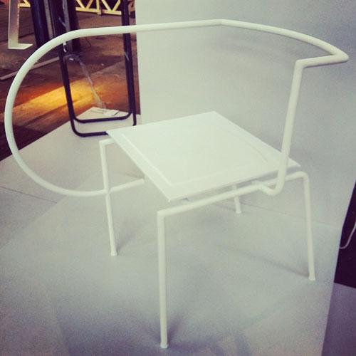 """La sedia """"Connesso"""" di Caroline Eriksson"""
