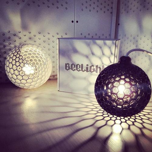 Le lampade Beelight del Buro Beehive