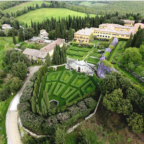 Pienza e i Fiori, Giardini Villa La Foce