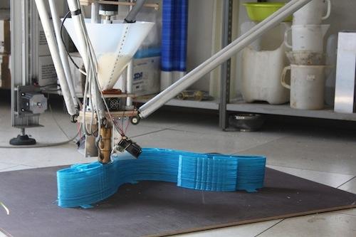 A Technology Hub la stampa 3D: in foto le sedie da ufficio stampate su misura di chi le utilizza