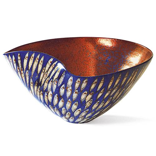 Vaso a onda di Ivana e Saura Vignoli, categoria Ceramica